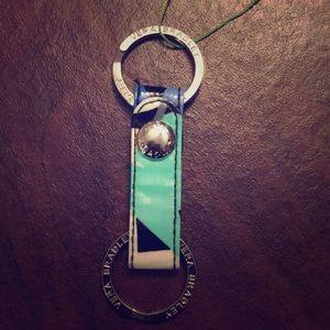Vera Bradley twice as nice keychain
